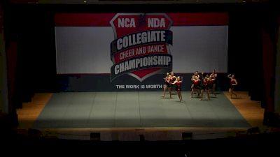 Simpson College [2018 Dance Team Performance Division III Prelims] NCA & NDA Collegiate Cheer and Dance Championship