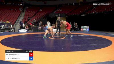 79 kg Consi 8 #1 - Muhamed McBryde, New York Athletic Club vs Michael O'Malley, Pennsylvania RTC