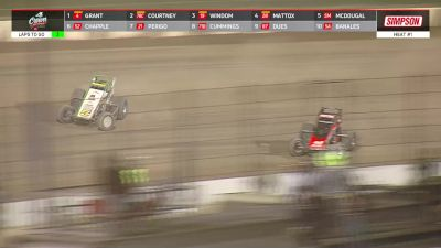 Heat Races | USAC Sprints at 4-Crown Nationals