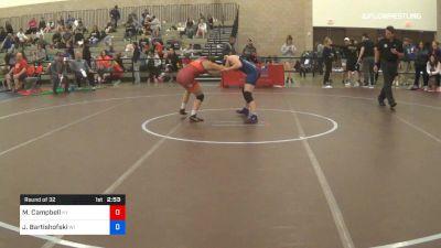 50 kg Round Of 32 - Mckayla Campbell, Team Kentucky vs Josie Bartishofski, Team Wisconsin