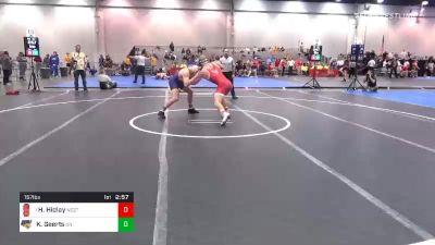 157 lbs Prelims - Hayden Hidlay, NC State vs Keaton Geerts, Northern Iowa