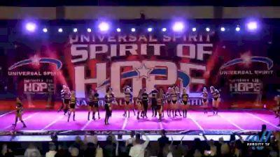 Rockstar Cheer Beatles [2021 Senior Small Coed Open 6 Day 1] 2021 Universal Spirit: Spirit of Hope National Championship