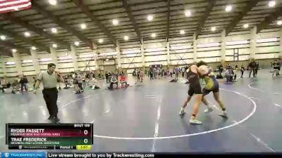 152 lbs 5th Place Match - Trae Frederick, Newberg High School Wrestling vs Ryder Fassett, Mountain View High School Wres