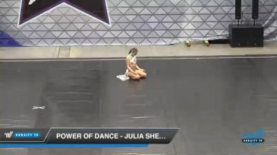 Power of Dance - Julia Sheahan [2021 Senior - Solo - Lyrical Day 2] 2021 Badger Championship & DanceFest Milwaukee