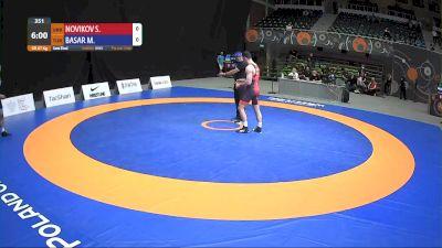 87kg Semi-Final - Metehan Basar, TUR vs Semen Novikov, UKR