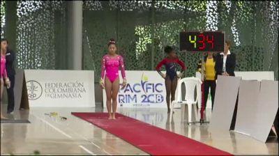 Sunisa Lee - Vault, United States - 2018 Pacific Rim Championships