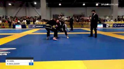MICHAEL HAGL vs PATRICK MCELDERRY 2021 American National IBJJF Jiu-Jitsu Championship