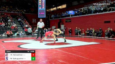 125 lbs Prelims - Malik Heinselman, Ohio State vs Michael DeAugustino, Northwestern