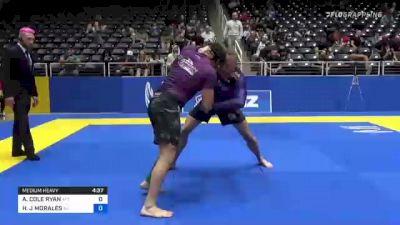 AARON COLE RYAN vs HECTOR J MORALES 2021 World IBJJF Jiu-Jitsu No-Gi Championship