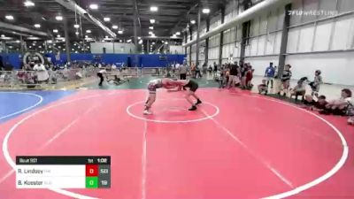 Rr Rnd 1 - Redmond Lindsey, The Funky Singlets vs Brayden Koester, Elite Athletic Club