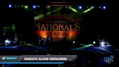 Charlotte Allstar Cheerleading - Ultra Violet [2021 L2 Junior - Medium Day 1] 2021 Cheer Ltd Nationals at CANAM