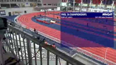 Full Replay - VHSL Indoor Championships | Class 3-4 - Track Events - Mar 2, 2021 at 3:53 PM CST