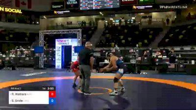 68 kg Prelims - Rachel Watters, New York Athletic Club vs Skylar Grote, New York Athletic Club