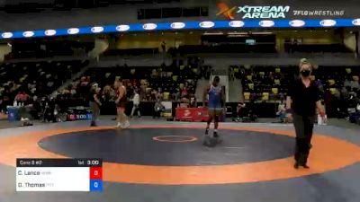 125 kg Cons 8 #2 - Christian Lance, Nebraska Wrestling Training Center vs Demertius Thomas, Pittsburgh Wrestling Club