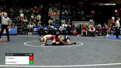 133 lbs Semifinal - Austin Gomez, Iowa State vs Roman Bravo-Young, Penn State
