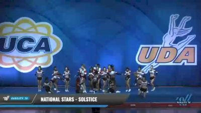 National Stars - Solstice [2020 L4 Senior Coed Day 2] 2020 UCA Smoky Mountain Championship