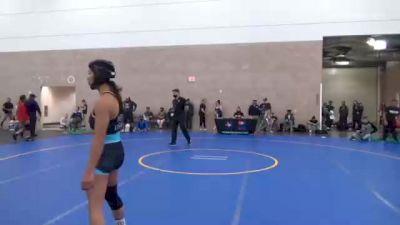 53 kg Rr Rnd 1 - Jaslynn Gallegos, Co vs Tiare Ikei, Co