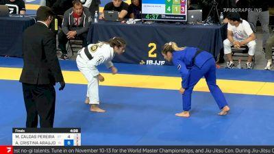 Ana Rodrigues vs Mayssa Bastos, Light-featherweight Final, 2021 IBJJF Pan Championship
