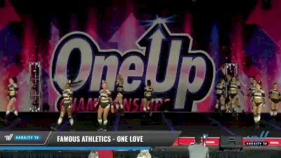 Famous Athletics - One Love [2021 L4 Senior Coed - D2 - Small Day 2] 2021 One Up National Championship