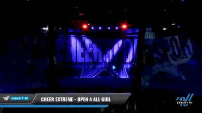 Cheer Extreme - Open 4 All Girl [2021 L4 International Open Day 2] 2021 CHEERSPORT National Cheerleading Championship