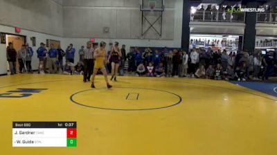 120 lbs Consy 2 - Jacob Gardner, Canon-McMillan vs Wil Guida, St. Paul's-MD