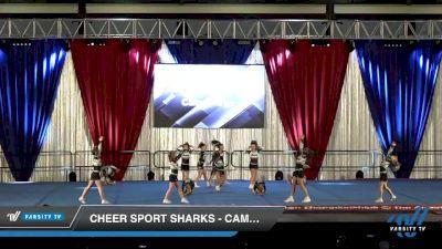 Cheer Sport Sharks - Cambridge - Megamouth Sharks [2020 L2 Mini Day 2] 2020 The American Majestic DI & DII