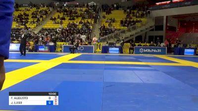 FELIPE AUGUSTO FARIAS BEZERRA vs JIMMY LUGO 2019 World Jiu-Jitsu IBJJF Championship