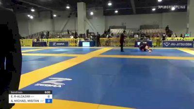 EMMAUEL RIVERA-ALCAZAR vs ANTHONY MICHAEL MISITANO III 2021 American National IBJJF Jiu-Jitsu Championship