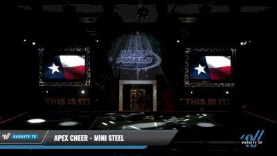 Apex Cheer - Mini Steel [2021 L1 Mini - D2 Day 1] 2021 The U.S. Finals: Grapevine