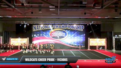 Wildcats Cheer Pride - Vicious [2021 L6 International Open - NT Day 2] 2021 ACP: Midwest World Bid National Championship