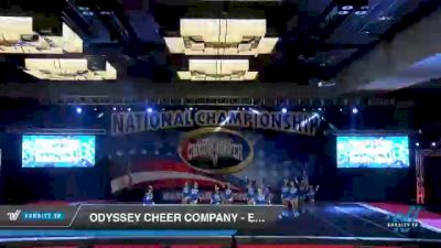 Odyssey Cheer Company - Electric Storm [2021 L2 Junior - D2 - B Day 3] 2021 ACP Southern National Championship