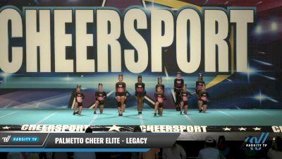 Palmetto Cheer Elite - Legacy [2021 L2 Senior - D2 Day 1] 2021 CHEERSPORT: Charlotte Grand Championship