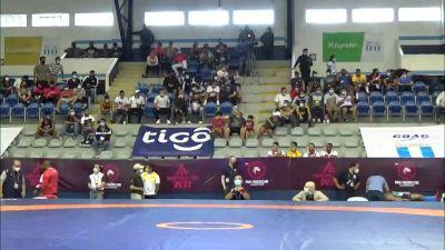 125 kg Semifinal - Gable Dan Steveson, United States vs Eduardo Maximiliano Garcia Betanzos, Mexico