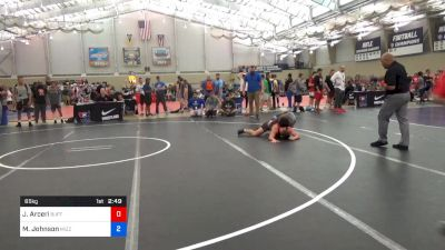 65 kg Consi Of 64 #2 - John Arceri, Buffalo vs Malik Johnson, Mizzou