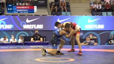 45 kg Final 1-2 - Ozodbek Khalimboev, Uzbekistan vs Nikita Dementiev, Ukraine