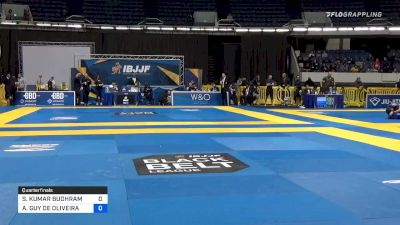 SURAJ KUMAR BUDHRAM vs ANTHONY GUY DE OLIVEIRA 2019 World IBJJF Jiu-Jitsu No-Gi Championship