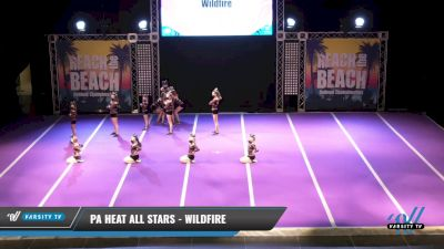 PA Heat All Stars - Wildfire [2021 L2 Youth - D2 Day 2] 2021 ACDA: Reach The Beach Nationals