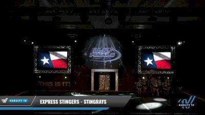 Express Stingers - Stingrays [2021 L3 Senior Coed Day 1] 2021 The U.S. Finals: Grapevine