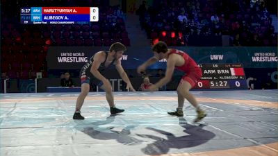 61 kg Quarterfinal - Arsen Harutyunyan, Armenia vs Alibeg Alibegov, Brunei