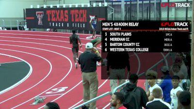 Men's 4x400m Relay, Heat 5