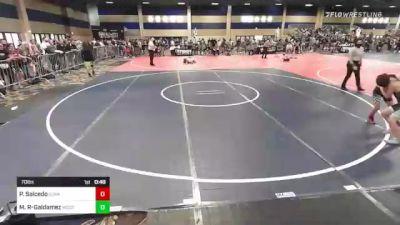 70 lbs Final - Parker Salcedo, Sunkist Kids/Monster Garage vs Markus Reyes-Galdamez, Westlake WC