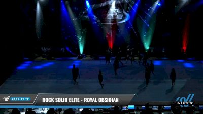 Rock Solid Elite - Royal Obsidian [2021 L2 Youth - D2 - Small Day 1] 2021 The U.S. Finals: Pensacola
