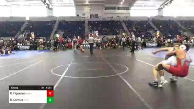 120 lbs Quarterfinal - Richard Figueroa, Sunkist Kids Monster Garage vs Brennen Cernus, Wyoming Seminary