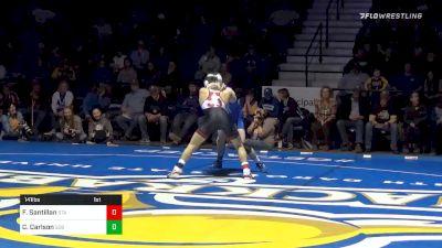 141 lbs Clay Carlson, SDSU vs Fabian Santillan, Stan