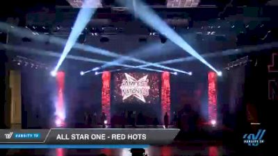 All Star One - Red Hots [2021 L2 - U17 Day 2] 2021 JAMfest Cheer Super Nationals