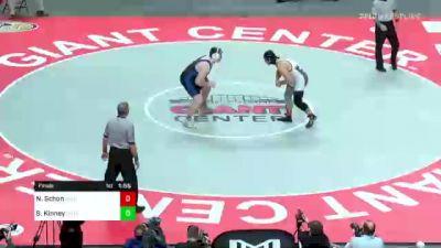 285 lbs Final - Nate Schon, Selinsgrove vs Sean Kinney, Nazareth