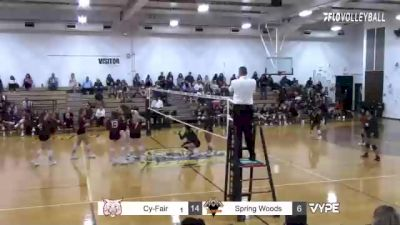 Replay: Spring Woods vs Cy-Fair | Oct 26 @ 5 PM