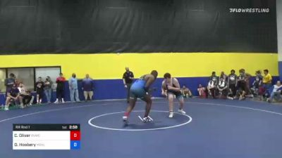 125 kg Rr Rnd 1 - Cameron Oliver, River Valley Wrestling Club vs Darrian Hoobery, Missouri Valley