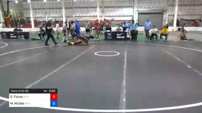 61 kg Consolation - Sidney Flores, Air Force Regional Training Center vs Michael McGee, Sunkist Kids Wrestling Club