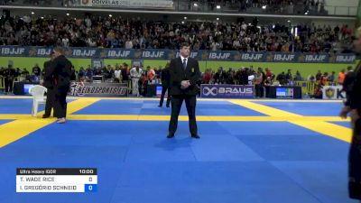 TANNER WADE RICE vs IGOR GREGÓRIO SCHNEIDER 2020 European Jiu-Jitsu IBJJF Championship